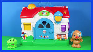 FISHER PRICE Laugh & Learn Puppy Activity Home TOY - YouTube 1987 Fisher Price Farm Toy Youtube Fisherprice Laugh Learn Jumperoo Walmartcom Amazoncom Bright Starts Having A Ball Cluck And Barn Fun Sounds Demo Little People Vintage Learningactivity Table Lego With Learning Basketball Animal Friends Toys Games Toysrus Vintage Sound Activity Center Mini My First