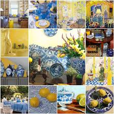The French Tangerine Blue And Yellow 7
