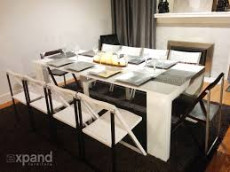 100 hideaway table and chairs next alluring 60 hide away