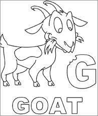 Goat Coloring Page Babygoatfarm