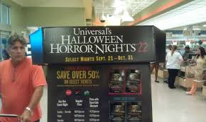 Halloween Horror Nights 2015 Parking Fee by Behind The Thrills Billboards Show Off Walking Dead For