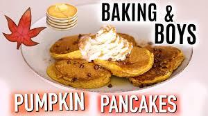 Easy Pumpkin Pancake Recipe by Baking U0026 Boys Pumpkin Pancakes Youtube