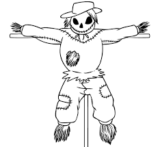 Scary Halloween Witch Coloring Pages by Free Printable Scarecrow Coloring Pages For Kids