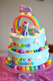 Cakes Decorated With Candy by Best 25 Rainbow Dash Cake Ideas On Pinterest My Little Pony