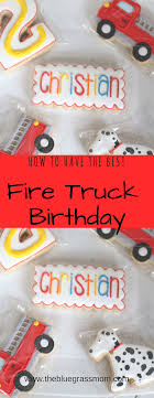 100 Fire Truck Birthday Party How To Have The Best Fire Truck Theme Birthday Party