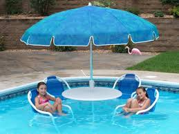 Swimming Pool Chairs And Tables Umbrella