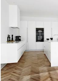holzdielen küchenboden haus ideen