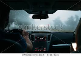 Traveler Couple Car Way Home Stock Shutterstock