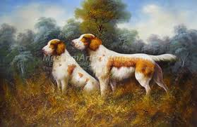 Dog Oil Paintings 006