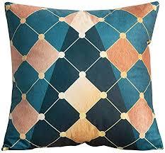 goosuny kissenbezug 45x45 cm couchkissen kissenbezüge blau