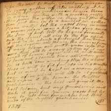 vieux livre de cuisine un manuscrit de recettes de cuisine britanniques vieux de 300 ans