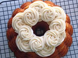 Hummingbird Bundt Cake with Vanilla Cream Cheese Frosting Easy to