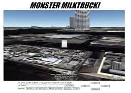 100 Moster Milk Truck Google Earth