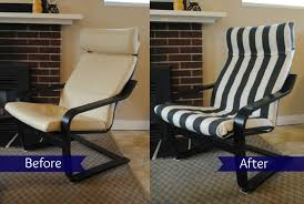 Hanging Chair Ikea Uk by Ikea Hack Poang Chair Recover