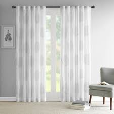 Bed Bath And Beyond Curtains And Drapes by Buy Sheer Grey Window Panels From Bed Bath U0026 Beyond