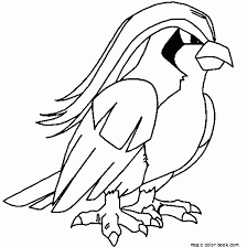 Pokemon Coloring Pages Online 20 Free Bird
