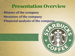 History Of The Company Structure Financial Analysis
