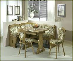 Corner Bench Dining Set Kitchen Table With And Chairs