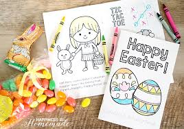 Printable Easter Coloring Book Pages