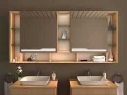 moderner led spiegelschrank nach maß ndash einbau möglich