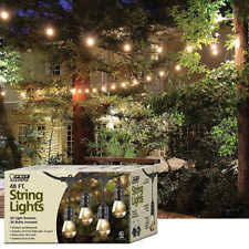 feit electric weatherproof outdoor decorative string lights 48ft