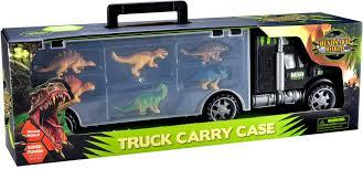 100 Dinosaur Truck Toys Bhoomi 2 In 1 Long Haul Carrier Case 2 In 1