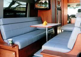 Rv Jackknife Sofa With Seat Belts by Sportsmobile Custom Camper Vans Seats U0026 Beds