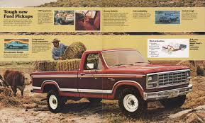 100 Ford Truck 1980 Pickup Sales Brochure