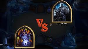 warlock vs lich king hearthstone decklist in description youtube
