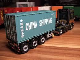 WSI Sigi Reil Scania Mit 20ft Cina Shipping Container Auf Pacton ...
