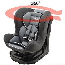 siège auto bébé pivotant groupe 1 2 3 siège auto revo 360 pivotant et inclinable gr 0 1 4 coloris
