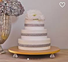 Gold Cake Stand Wedding Topper Bling Event Decor E Isabella Designs Featured In Martha Stewart Weddings