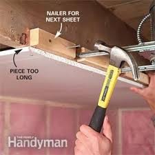 hanging drywall on ceiling tips the 25 best how to hang drywall ideas on hanging