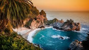 Waves Water Landscape Pacific Ocean Colorful