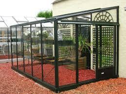 serre adossée pour votre jardin serre en verre et aluminium