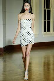 kendall jenner looks leggy in tight polka dot dress daily mail