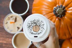 Dunkin Donuts Pumpkin Spice Syrup Vegan by 4 Dunkin U0027 Donuts Pumpkin Swirl Latte With Whole Milk From The 8
