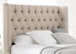 Roma Tufted Wingback Headboard Oyster Fullqueen by Upholstered Winged Headboard U2013 Ic Cit Org