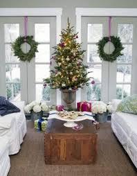 Potted Christmas Tree by Potted Christmas Trees Make Every Room Festive Cafemom