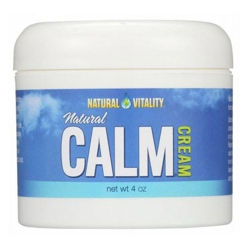 Natural Vitality, Calm Cream,Natural 4 oz