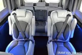 Ford Transit Conversion Van Interior