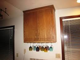 Under Cabinet Stemware Rack Walmart by Under Cabinet Wine Glass Rack In Hanging Designs U2014 Wow Pictures