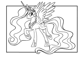 Image Of Free My Little Pony Coloring Pages