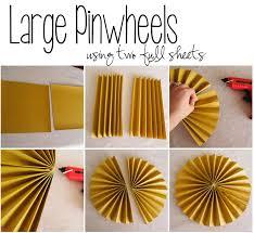Make Pinwheels Using Basic Scrapbooking Paper