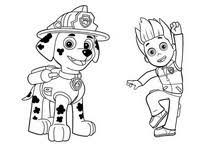 Coloring Pages Paw Patrol Drawing