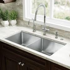 33x22 Stainless Steel Sink by Glacier Bay Allinone Dropin Stainless Steel 33 In 4hole Single