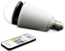 iLive ILED75W Bluetooth LED Light Bulb Speaker