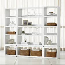 Aspect White 6 Piece Open Storage Unit