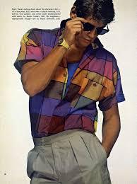 Early 80s Fashion Men