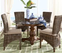 These Dining Rooms Mix Styles As Well The First Has Traditionally Styled Velour Chairs With A Contemporary Table In Second Casual Modern Are